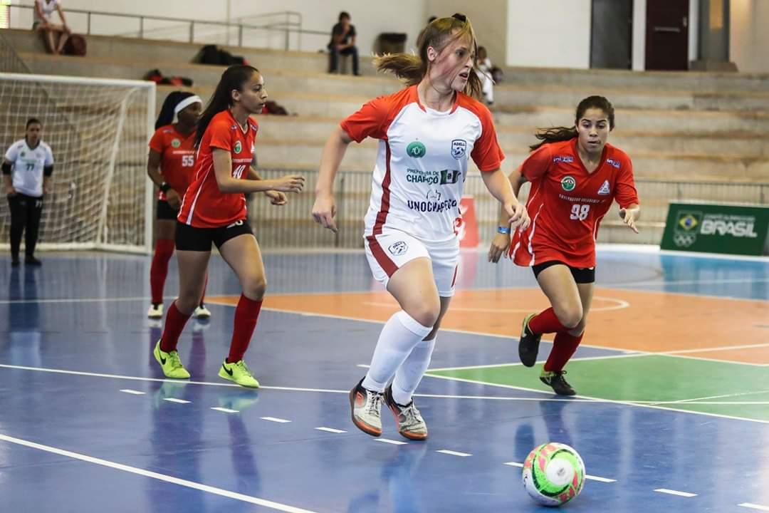 177c38a439 As disputas do futsal feminino aconteceram no Centro Municipal de Alto  Rendimento – Ginásio Homero Santos (UTC). Governador Valadares fez parte do  grupo C ...