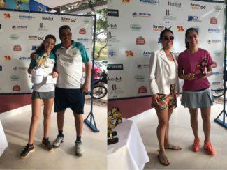 Duas tenistas do Filadélfia conquistam título de torneio em Teófilo Otoni