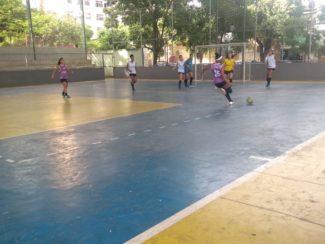 Futsal feminino do Nelson de Sena de olho no Mundial Escolar