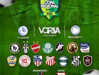 Terceira Copa Regional Sub-20 começa neste sábado